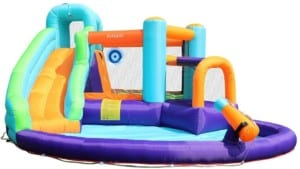 best inflatable water slide for kids